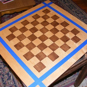 Davids chess table step 1