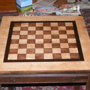 Davids chess table step 2